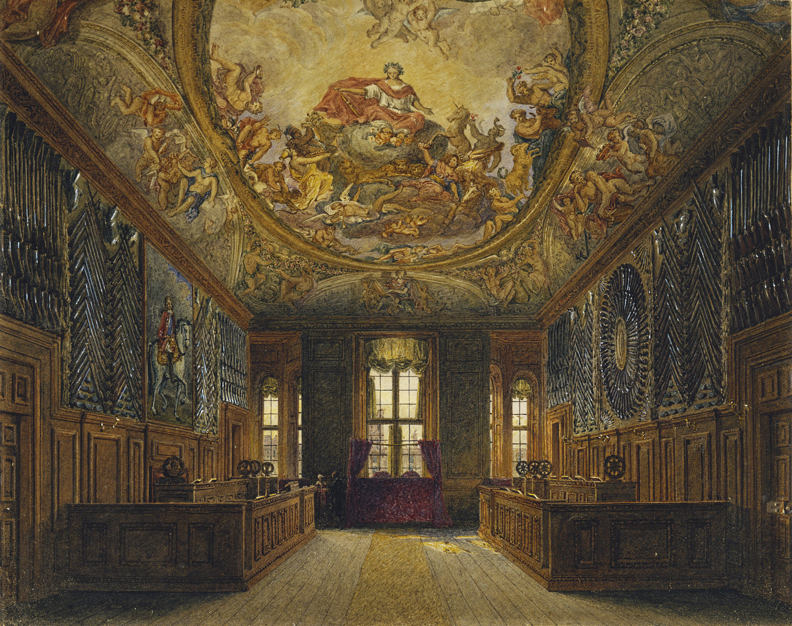 File Windsor Castle Queen S Guard Chamber By Charles