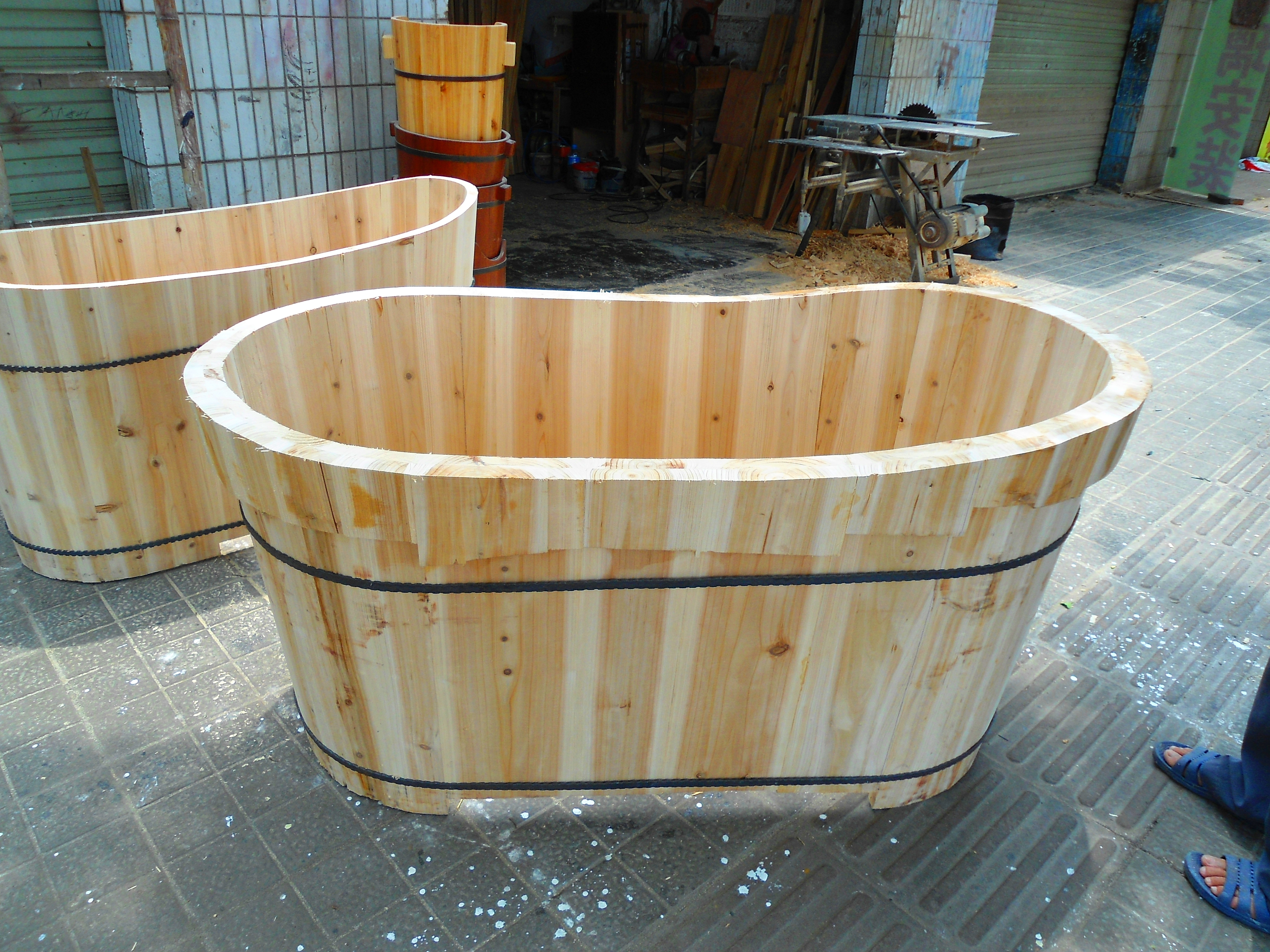 File Wooden Bathtub For Adults 04 Jpg Wikimedia Commons