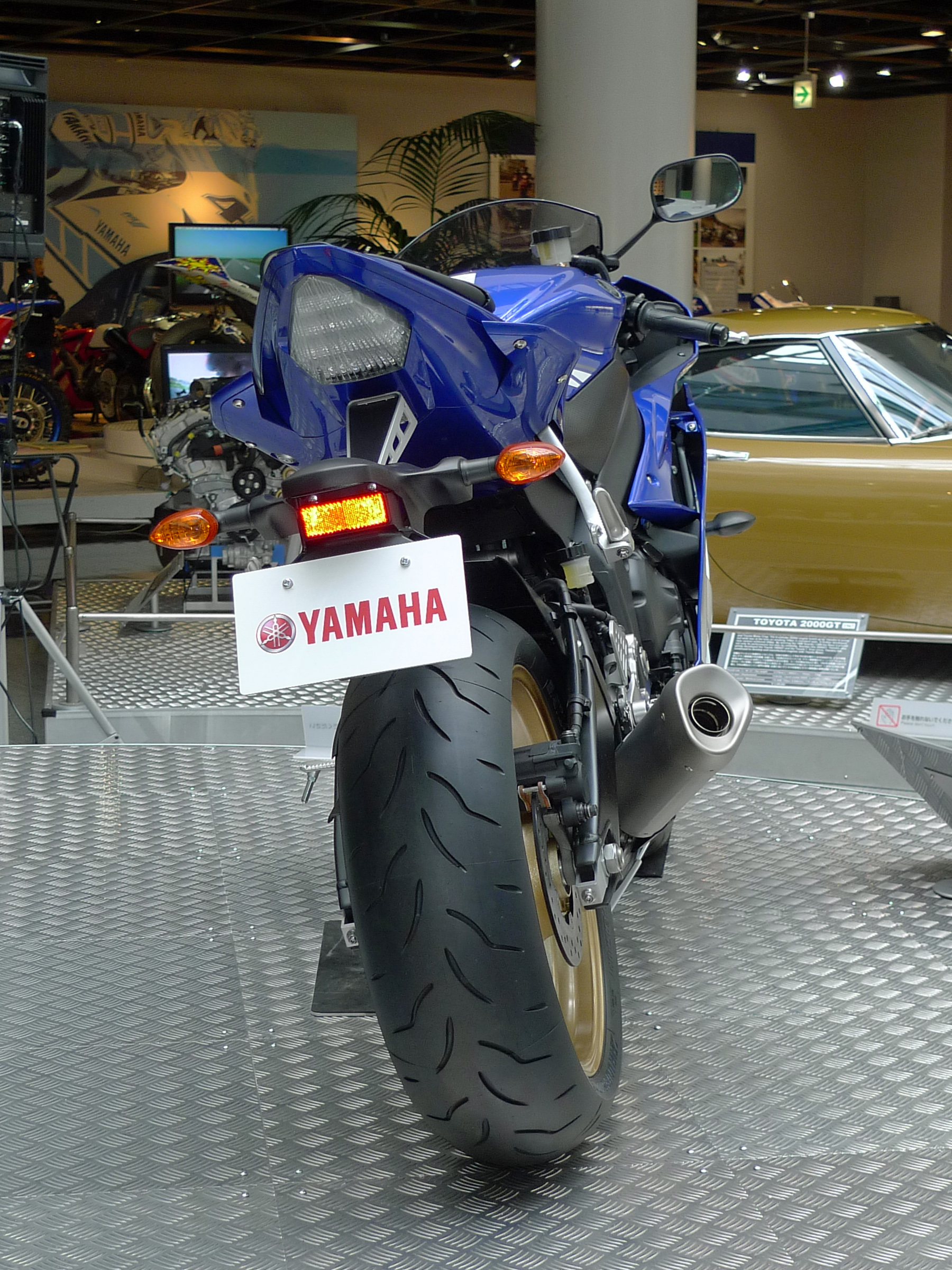 Yamaha R Rear Cowling Broke
