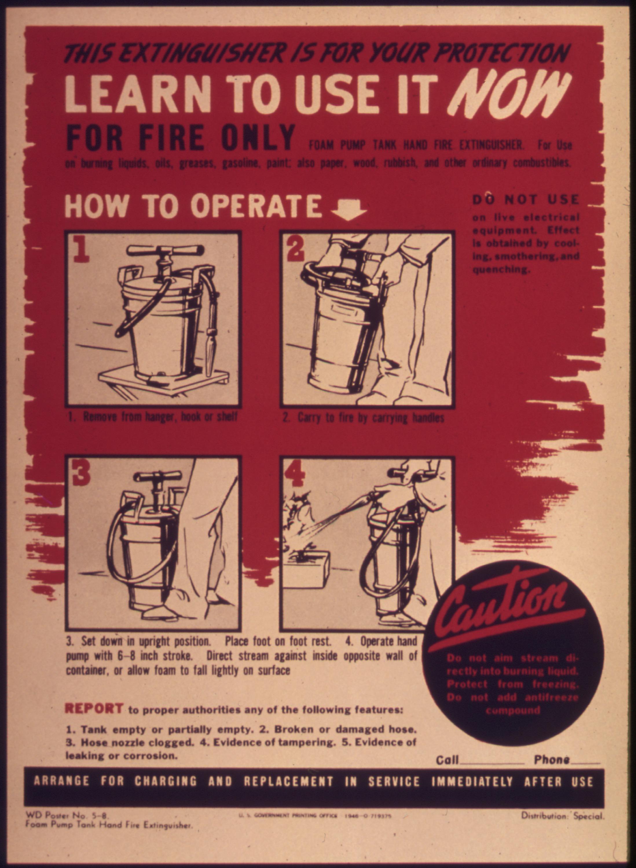 Fire Pump Sizes Pump Tank Hand Fire