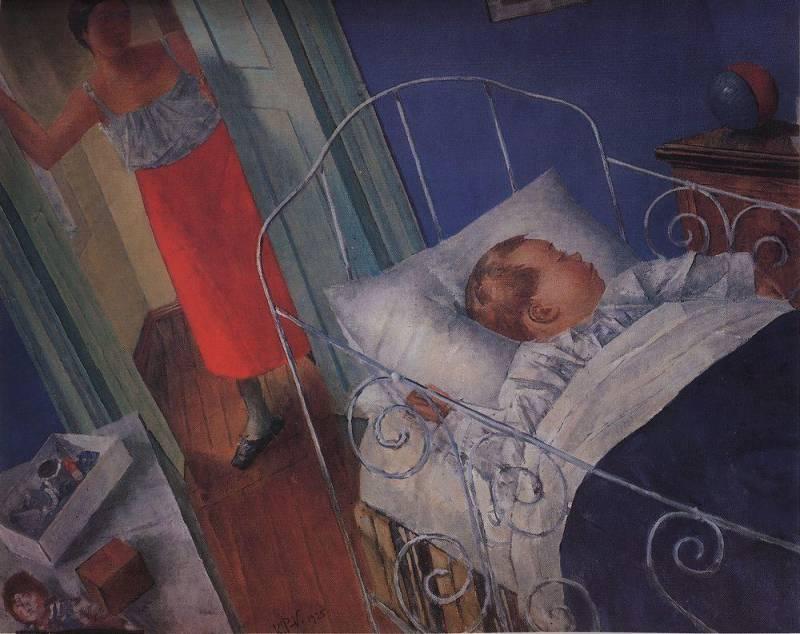 Файл:В детской. Петров-Водкин, Кузьма Сергеевич (1925).jpg