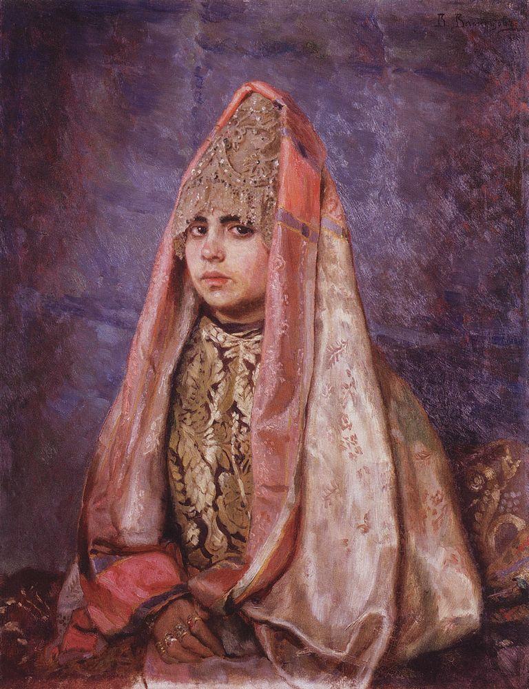 Боярышня (Портрет