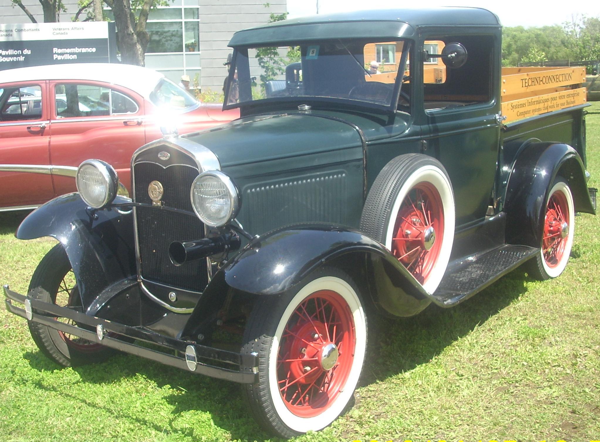 File 31 Ford Model A Pickup Ste Anne De Bellevue