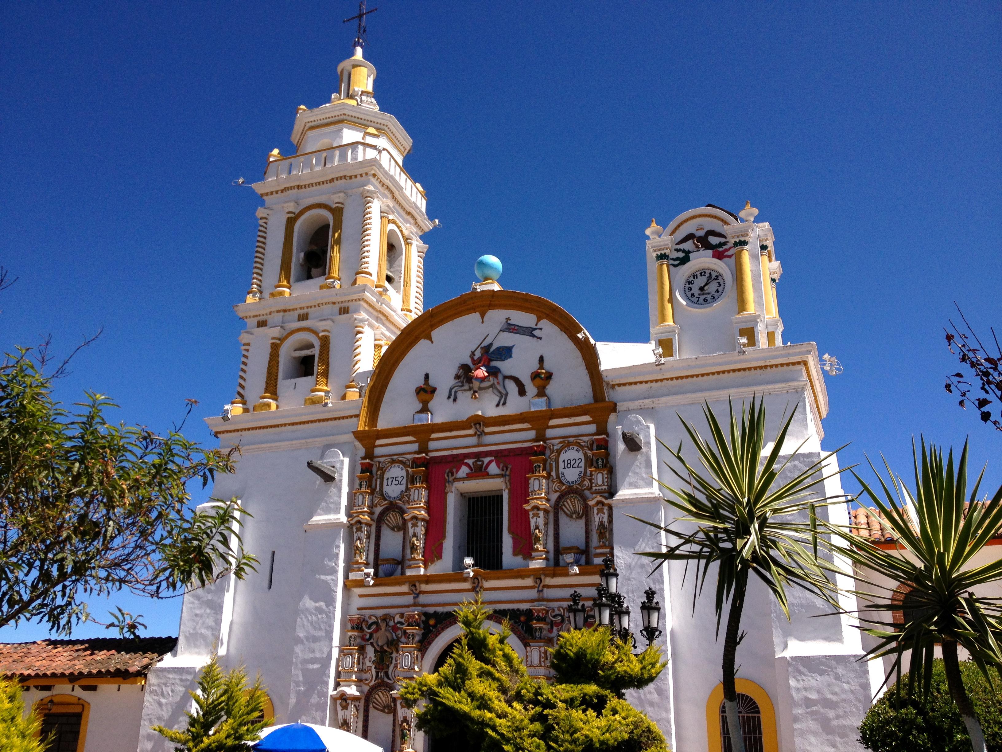 Parroquia de Santiago Apóstol en Chignahuapan