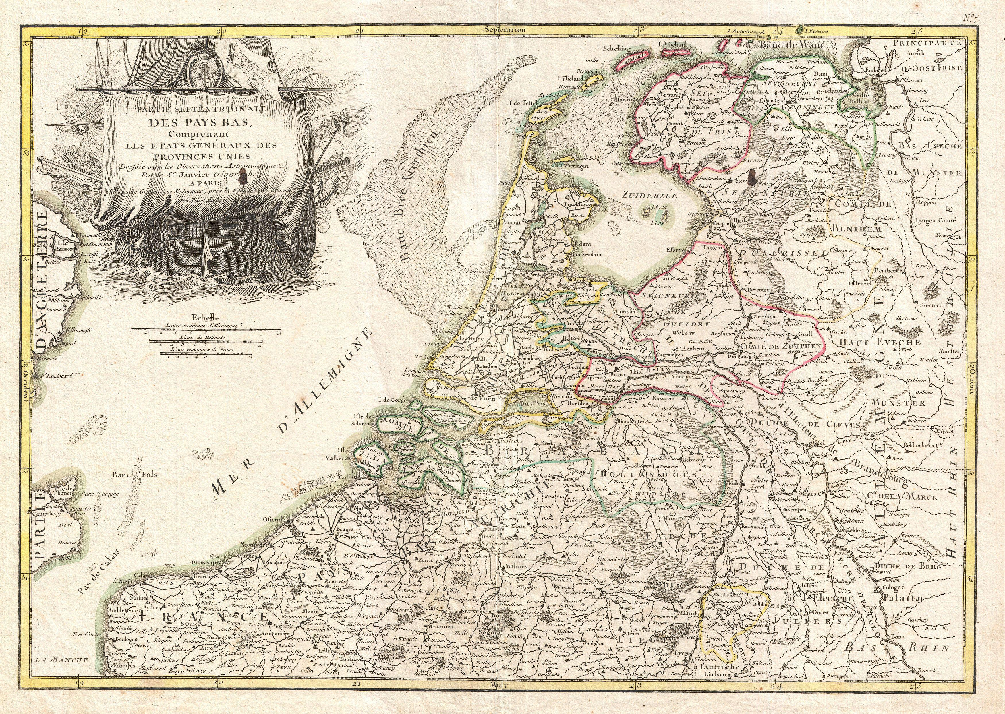file1775 janvier map of holland and belgium geographicus hollandbelgium janvier