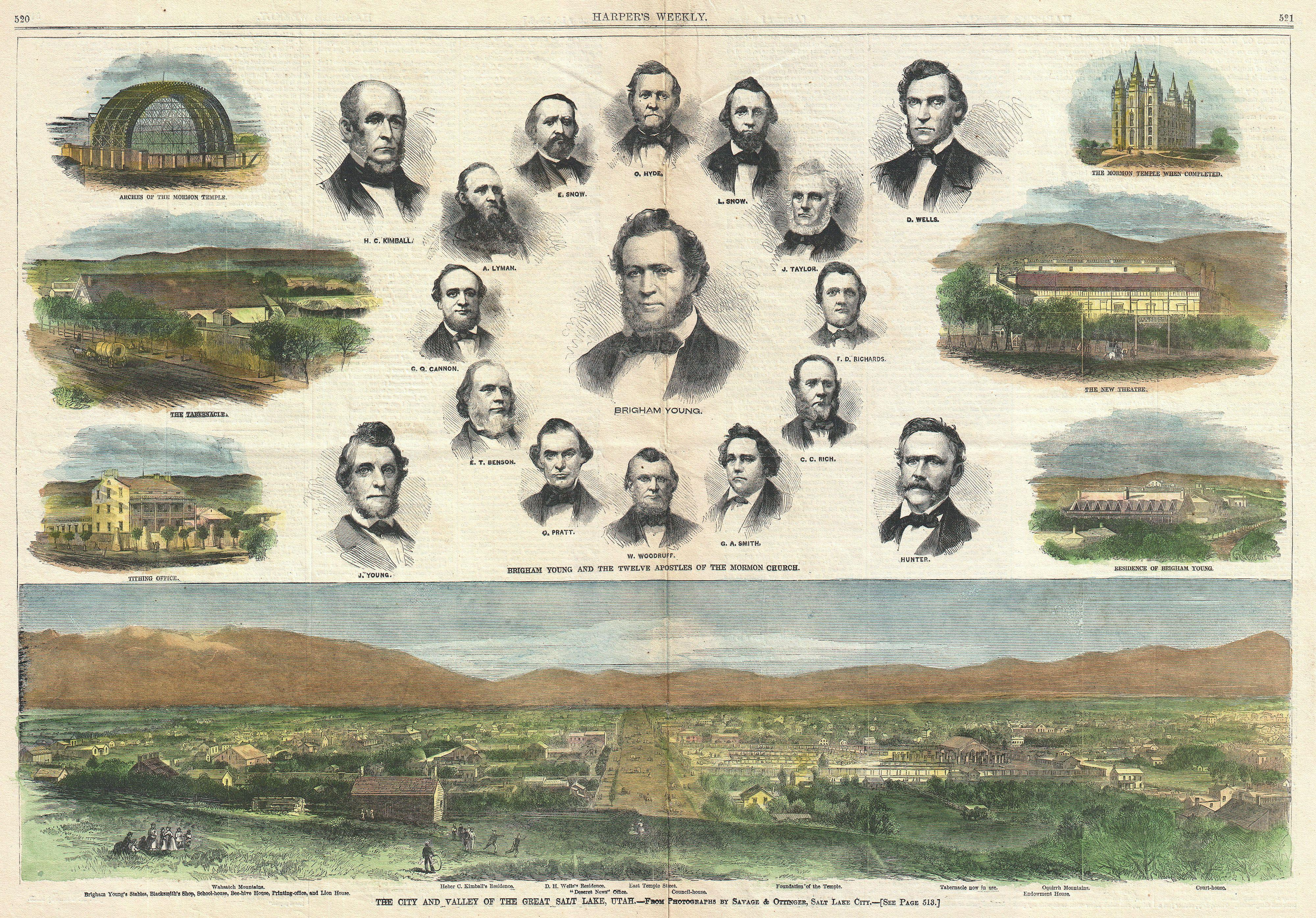 File:1866 Harper's Weekly View of Salt Lake City, Utah w