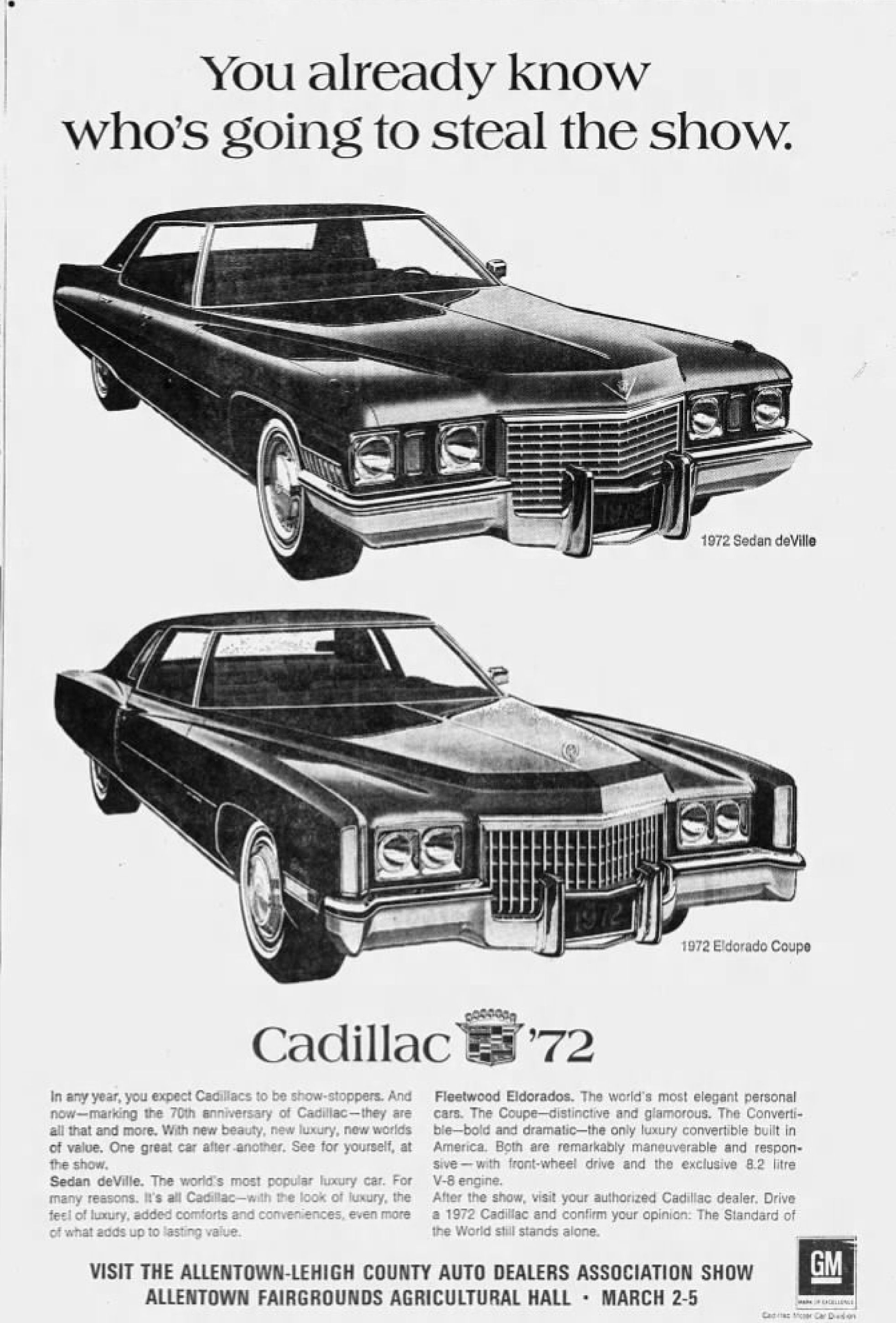 File:1972 - Daniels Cadillac - 1 Mar MC - Allentown PA.jpg ...