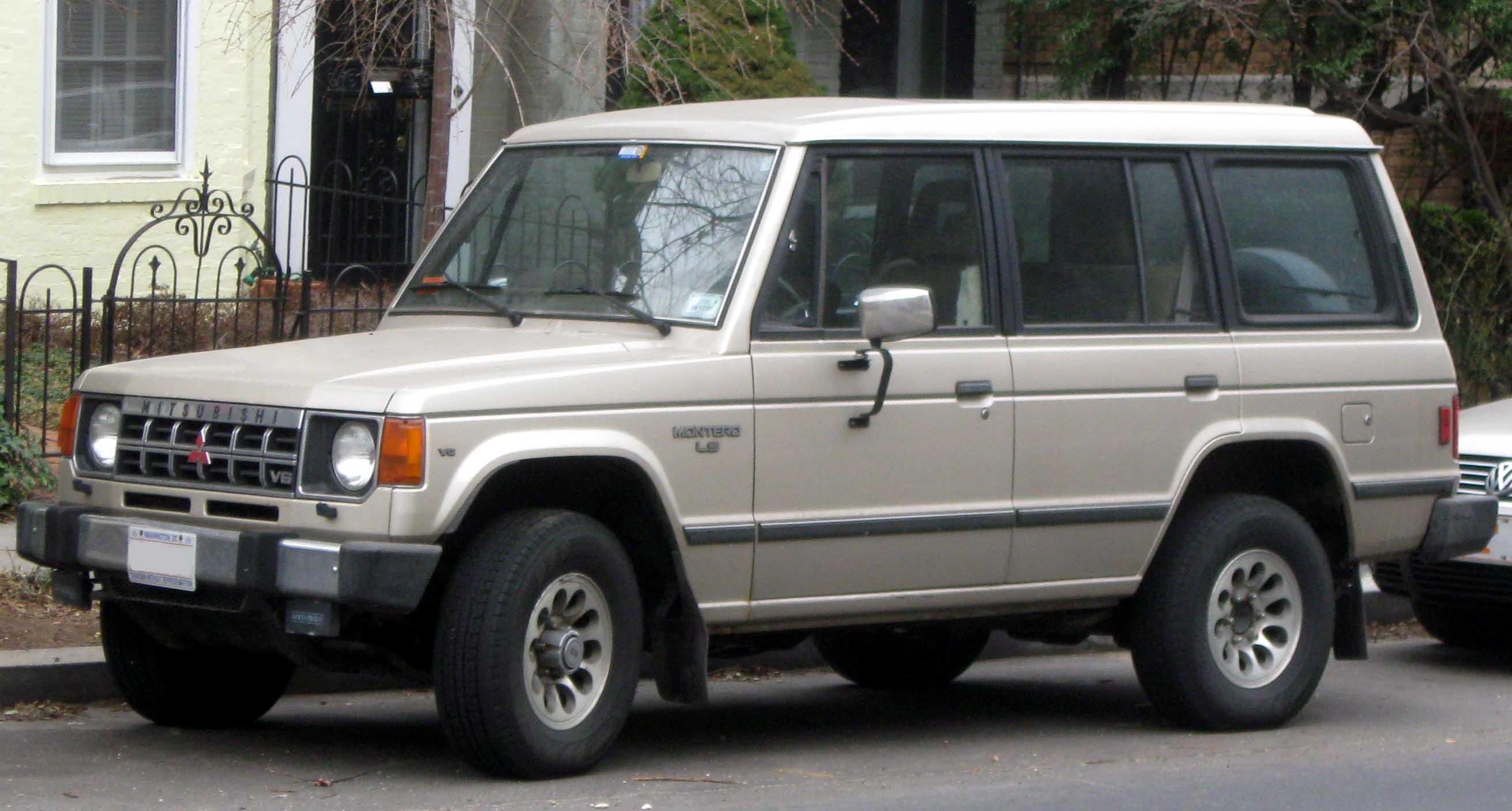 File:1st Mitsubishi Montero LS.jpg - Wikimedia Commons