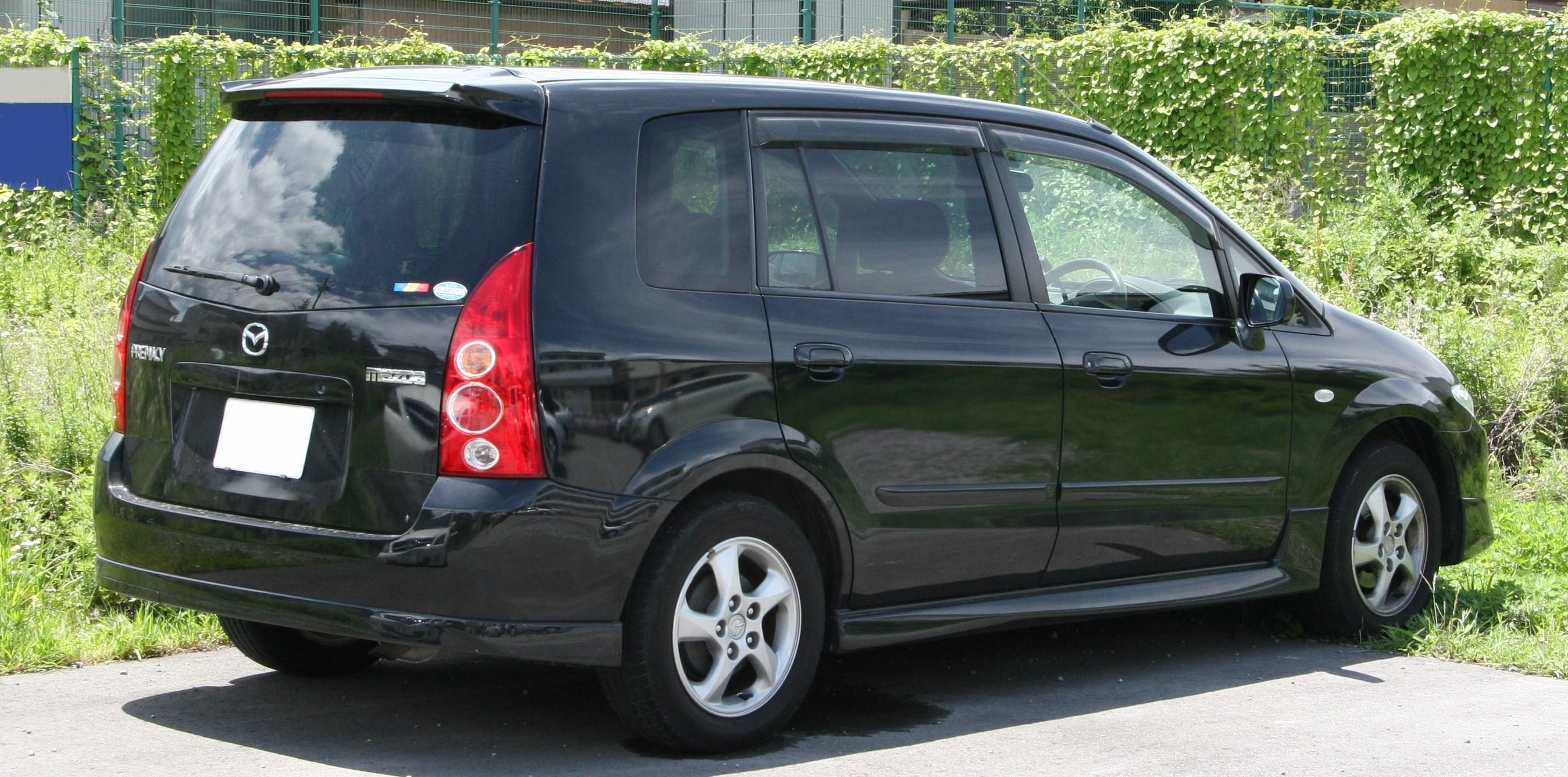 Mazda Premacy Rear