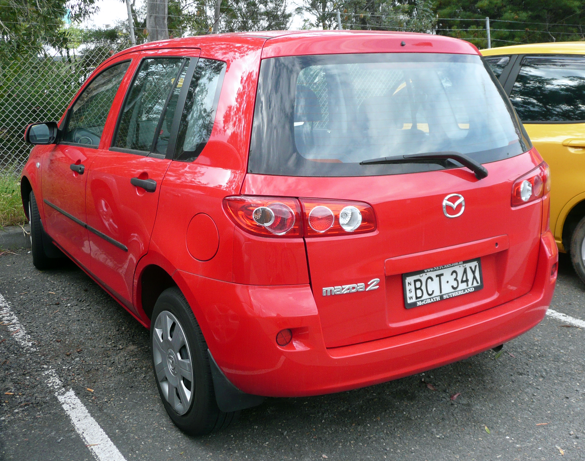 file 2005 2007 mazda 2 dy series 2 neo hatchback wikimedia commons. Black Bedroom Furniture Sets. Home Design Ideas