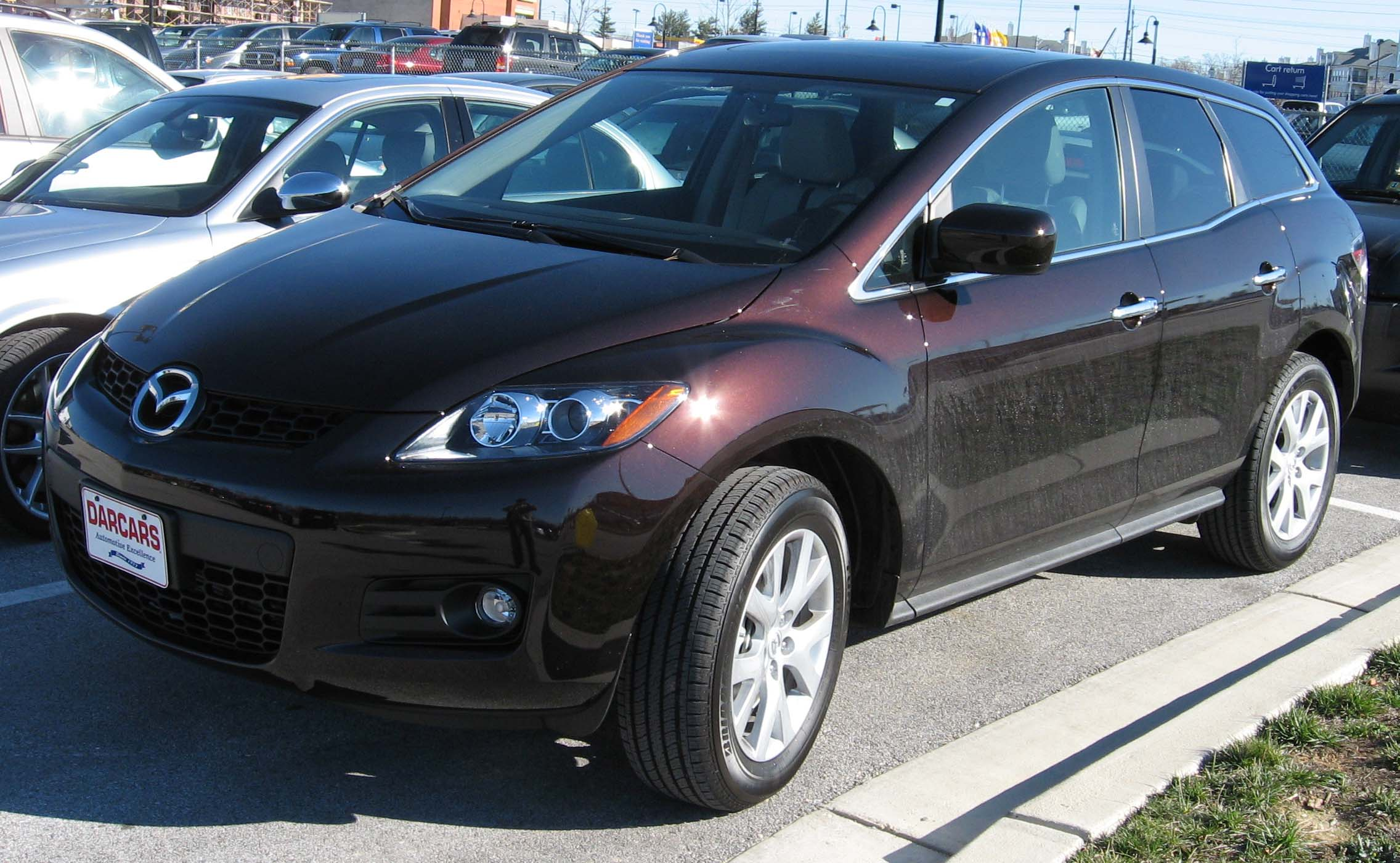 File 2007 Mazda Cx7 Jpg Wikimedia Commons