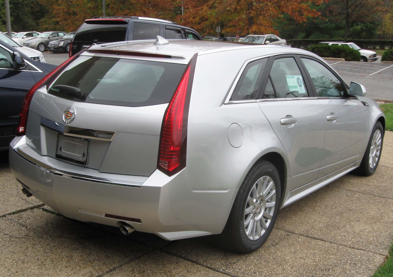 Cadillac Cts Wagon Rear on 2009 Cadillac Dts Convertible