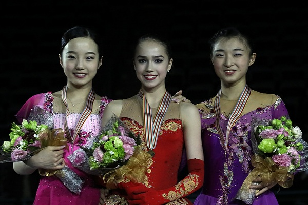 Zagitova at the 2017 Warld Junior Championships