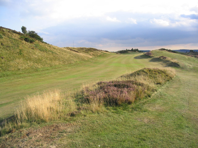 File:8th Fairway at Selkirk Golf Course - geograph.org.uk - 219460.jpg