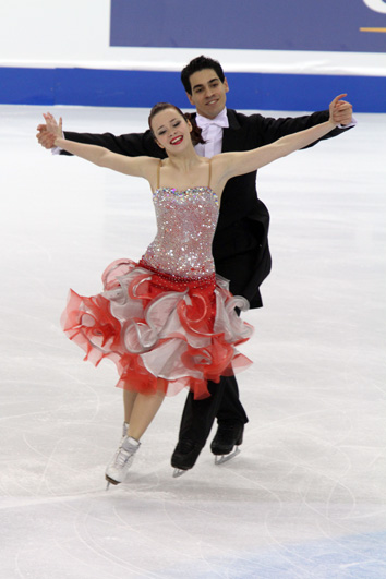 Cappellini/Lanotte at the 2010 Worlds