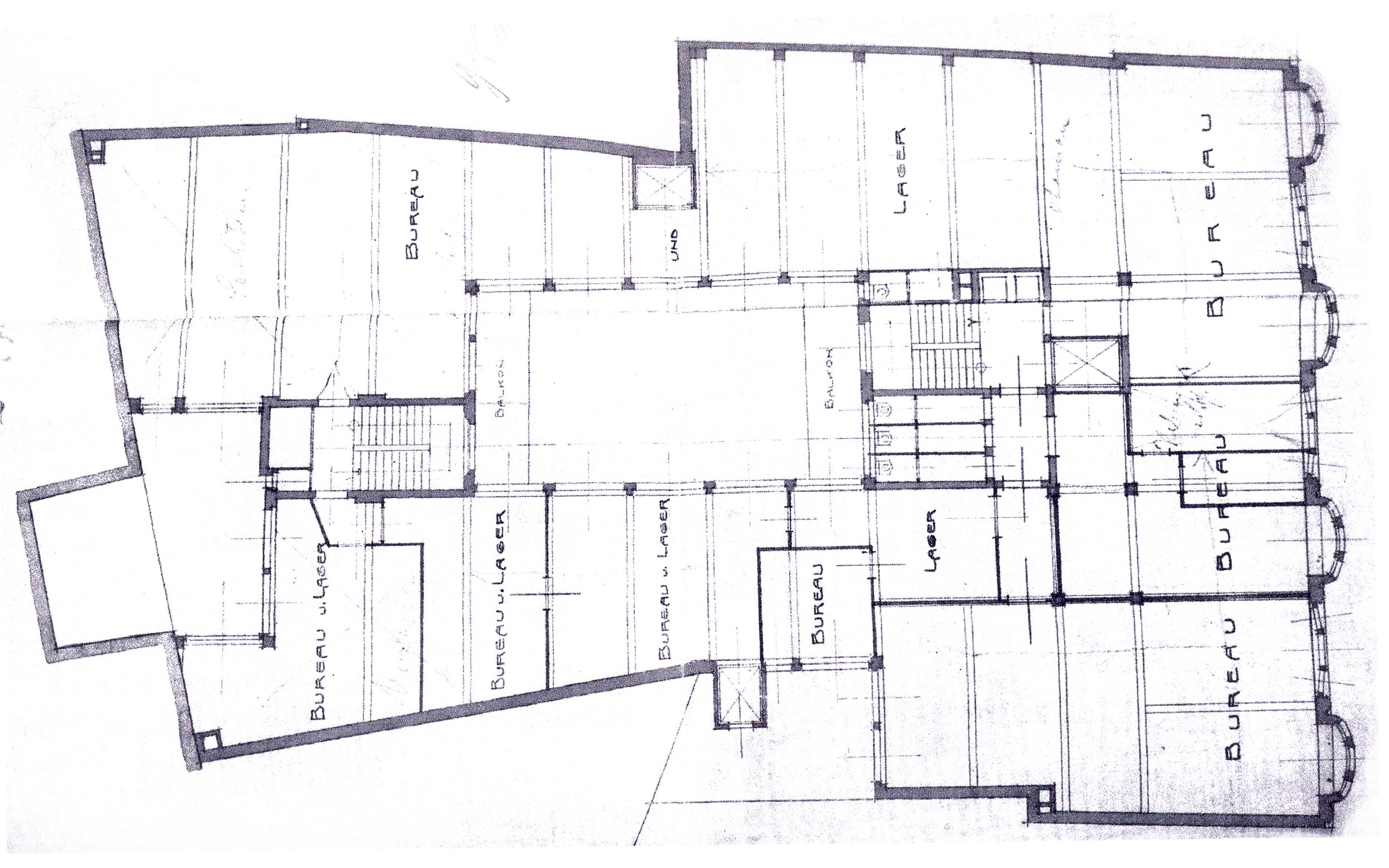 File:Abb. 57, Leipzig, Zeppelin Haus, Grundriss 1. Obergeschoss