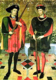Abdon and Sennen Christian martyrs of III century