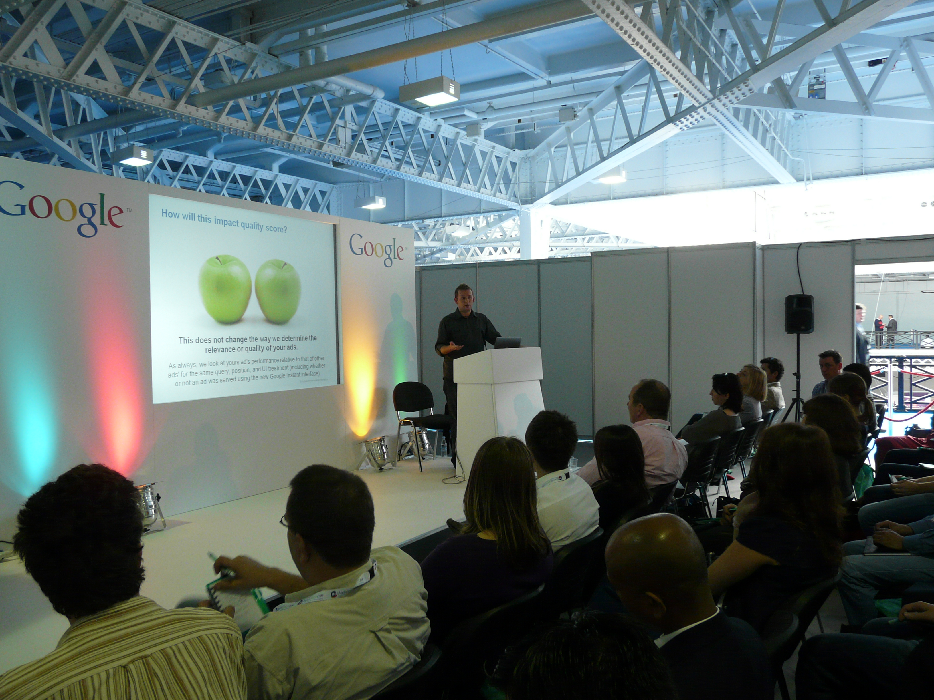 Google on ad-tech London, 2010