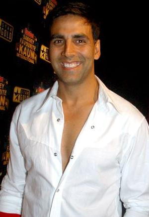 Indian actor Akshay Kumar