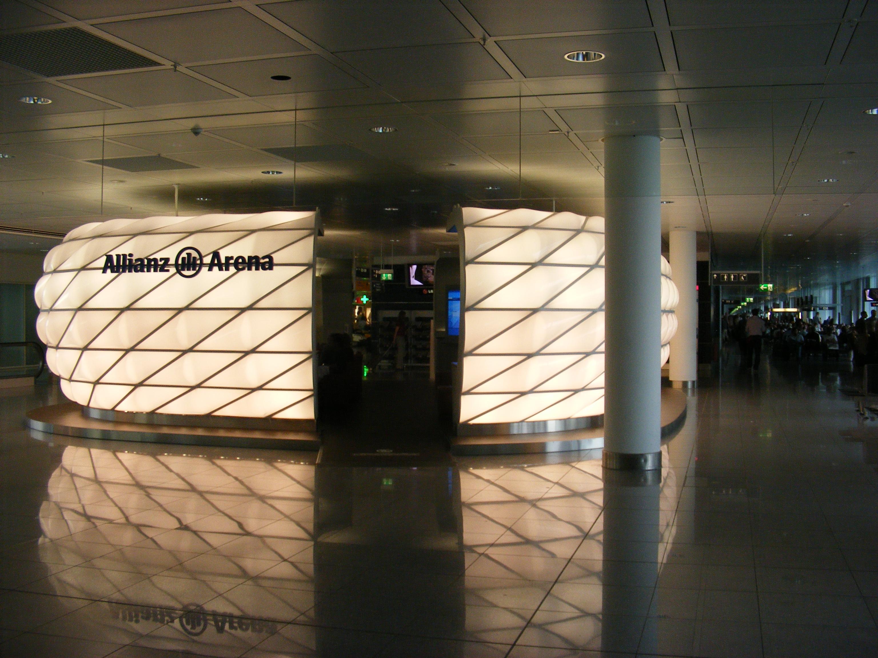 Fileallianz Arena Model At Munich Airportjpg Wikimedia