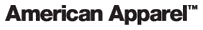 Description de l'image American Apparel-logo.png.