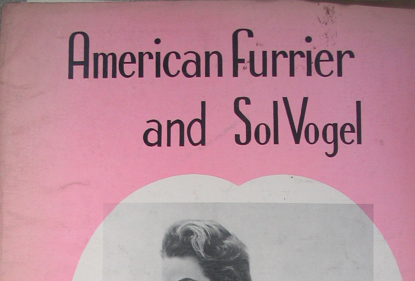 File:American Furrier U0026 Sol Vogel, Fur Trade Journal, New York 1956.