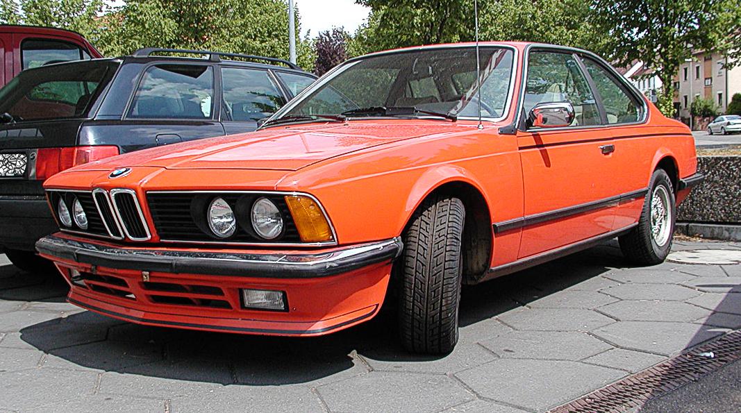 Bmw 1975 >> BMW serii 6 (1975) – Wikipedia, wolna encyklopedia