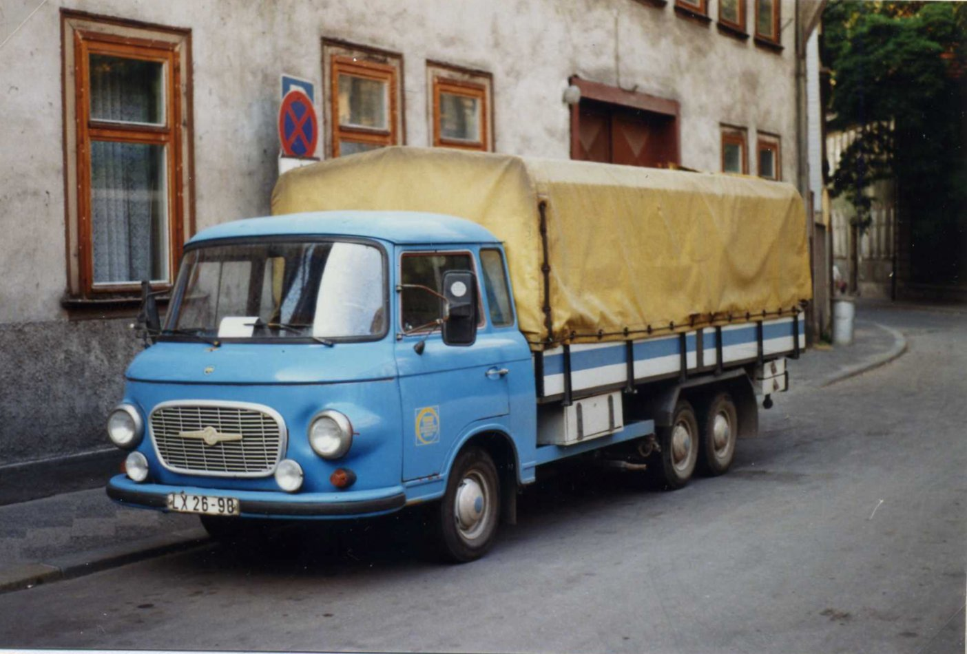 file barkas b1000 twin axle lkw lx 26 98 erfurt ddr august 1989 flickr. Black Bedroom Furniture Sets. Home Design Ideas