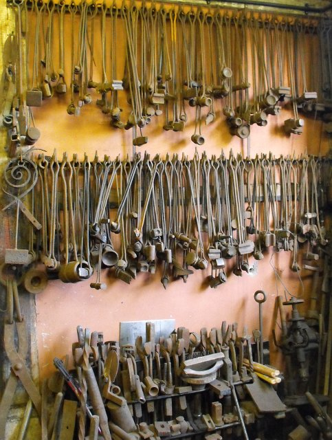 Blacksmith's tools - geograph.org.uk - 1483374