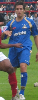 Stock playing for [[Doncaster Rovers F.C.|Doncaster Rovers]] in 2007