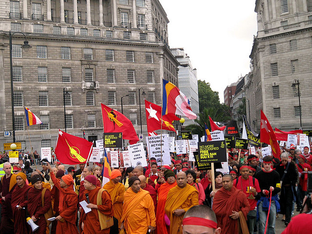 democracy myanmar