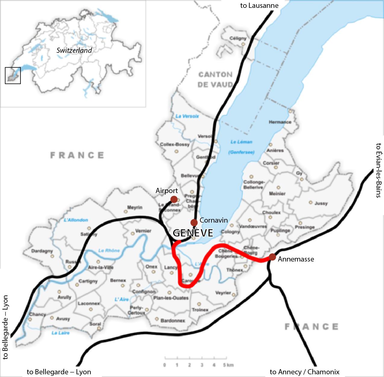 plan genève suisse