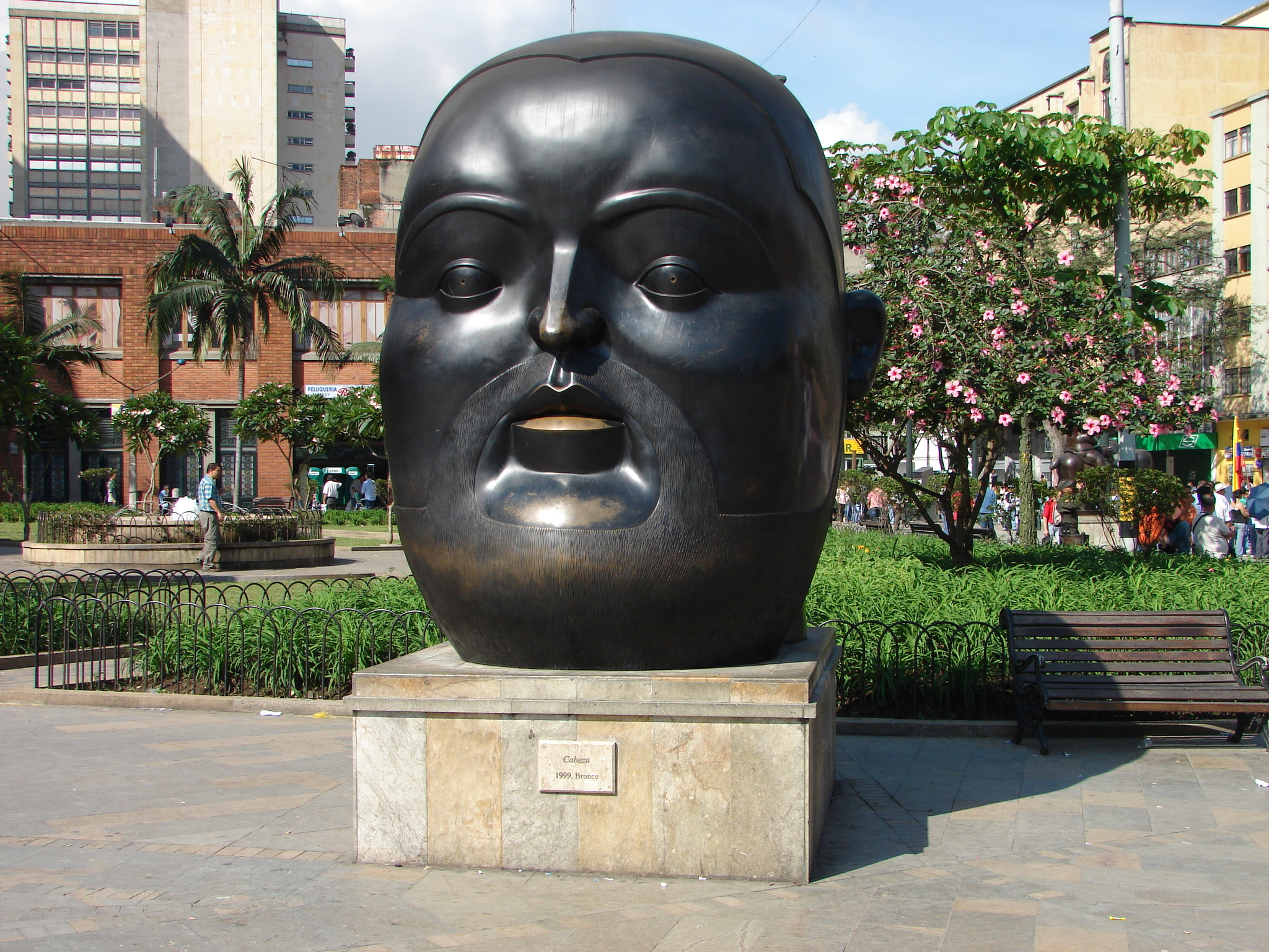 Botero sculpture, fat people scultpure, colombia fat people
