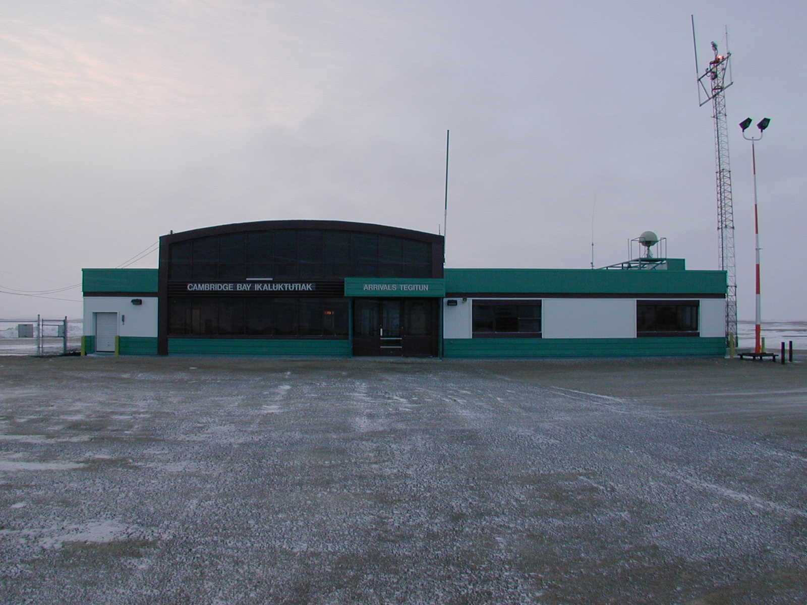 Cambridge Bayn lentoasema