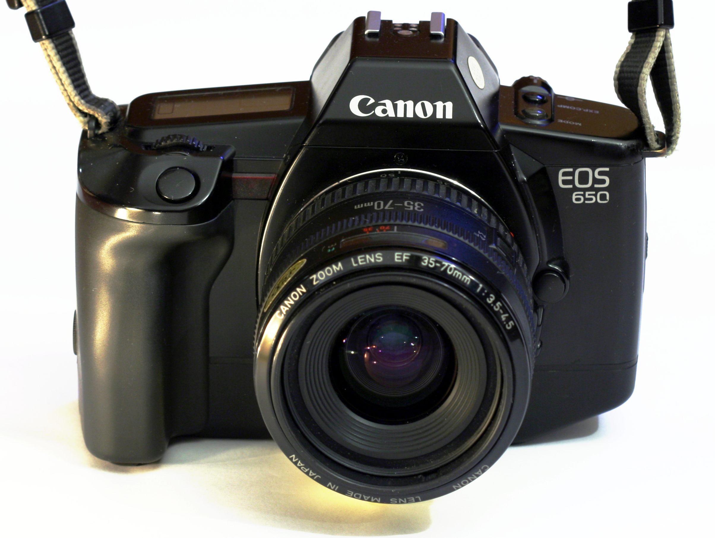 canon begynder kamera