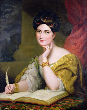 Caroline Norton, by [[George Hayter|Sir George Hayter]] in 1832