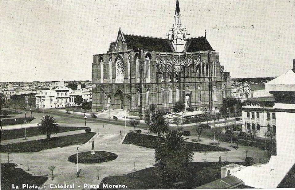 postal catedral de la plata