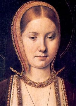 Young Catherine of Aragon (1485-1536).