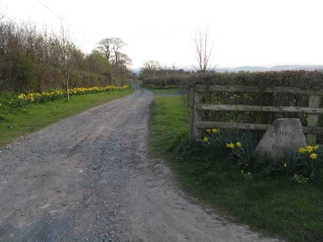 File:Church Farm Driveway - geograph.org.uk - 1235651.jpg