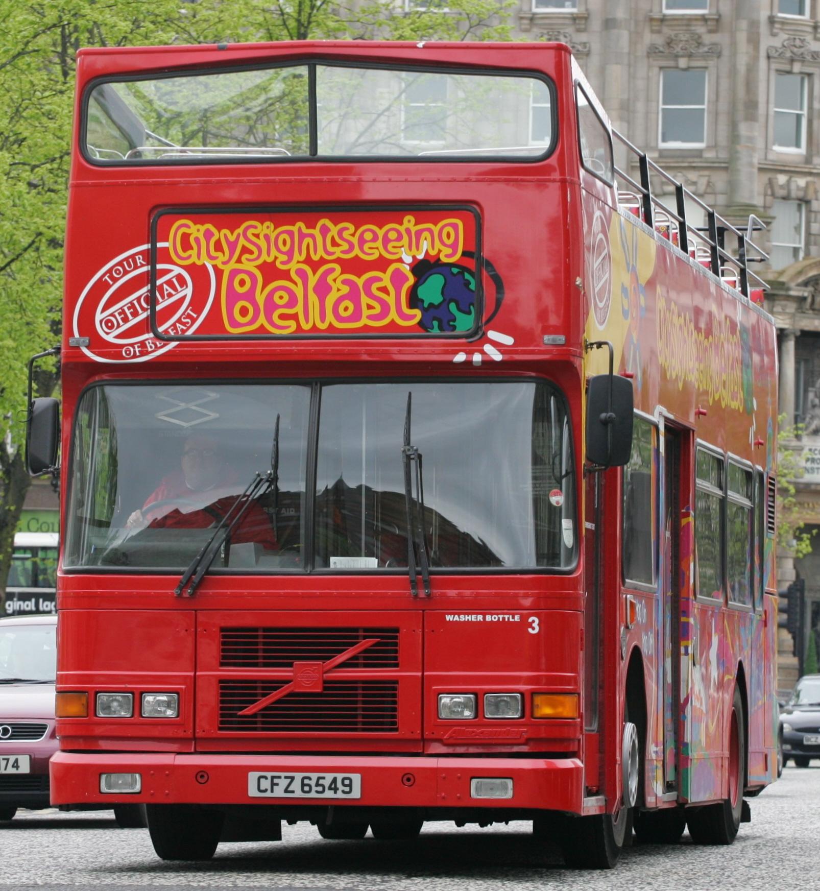 File City Sightseeing Belfast Bus 3 Cfz 6549 1997 Volvo