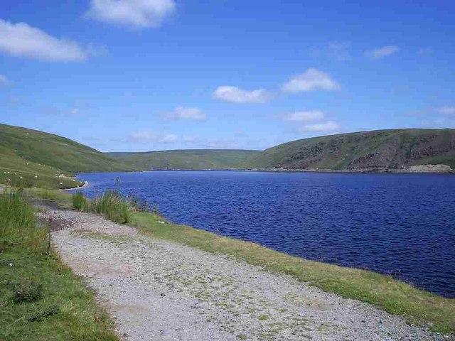 Claerwen Reservoir - geograph.org.uk - 209509