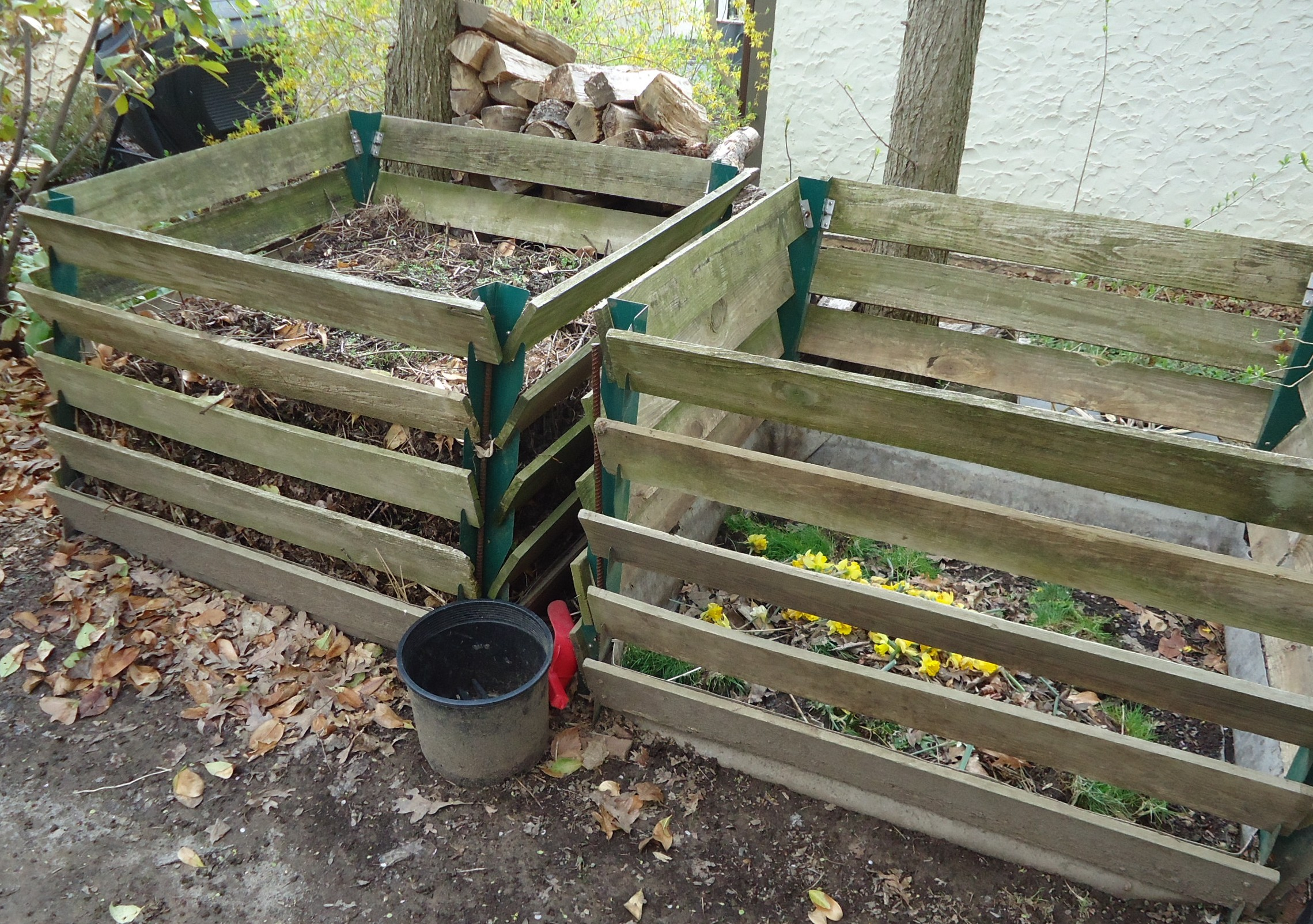 file composting containers in a new jersey backyard jpg