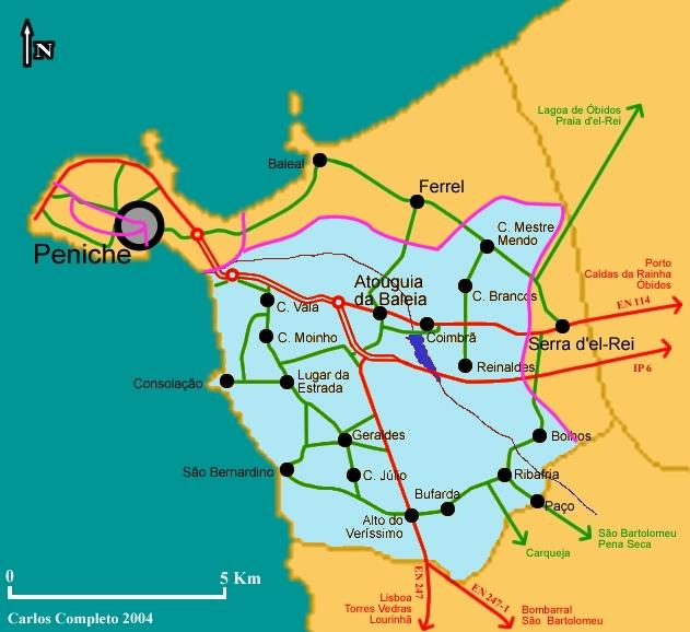 mapa atouguia da baleia Atouguia da Baleia   Wikipedia, la enciclopedia libre mapa atouguia da baleia