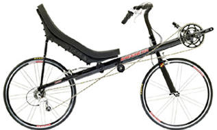 Recumbent bicycle Type of bicycle