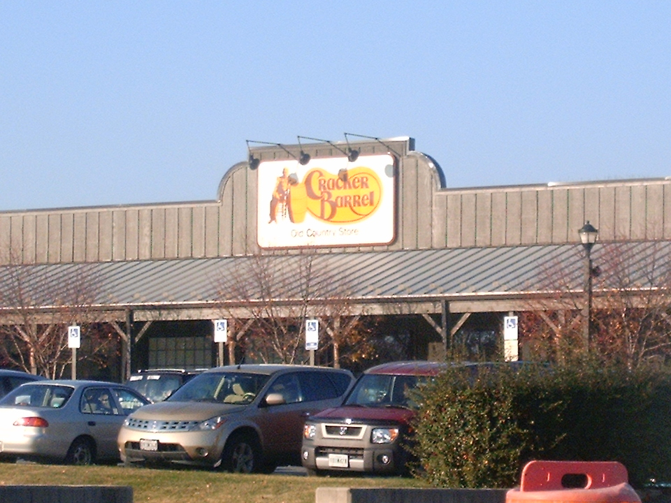 A Cracker Barrel chain restaurant