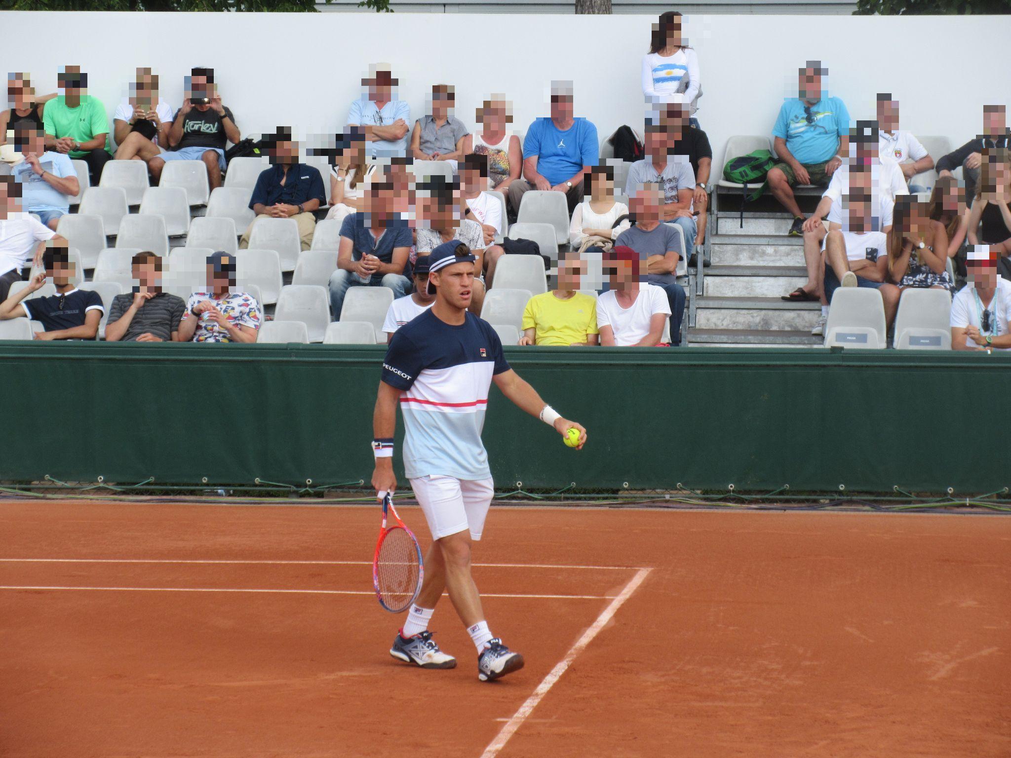 File Diego Schwartzman 1 Roland Garros 2018 Jpg Wikimedia Commons