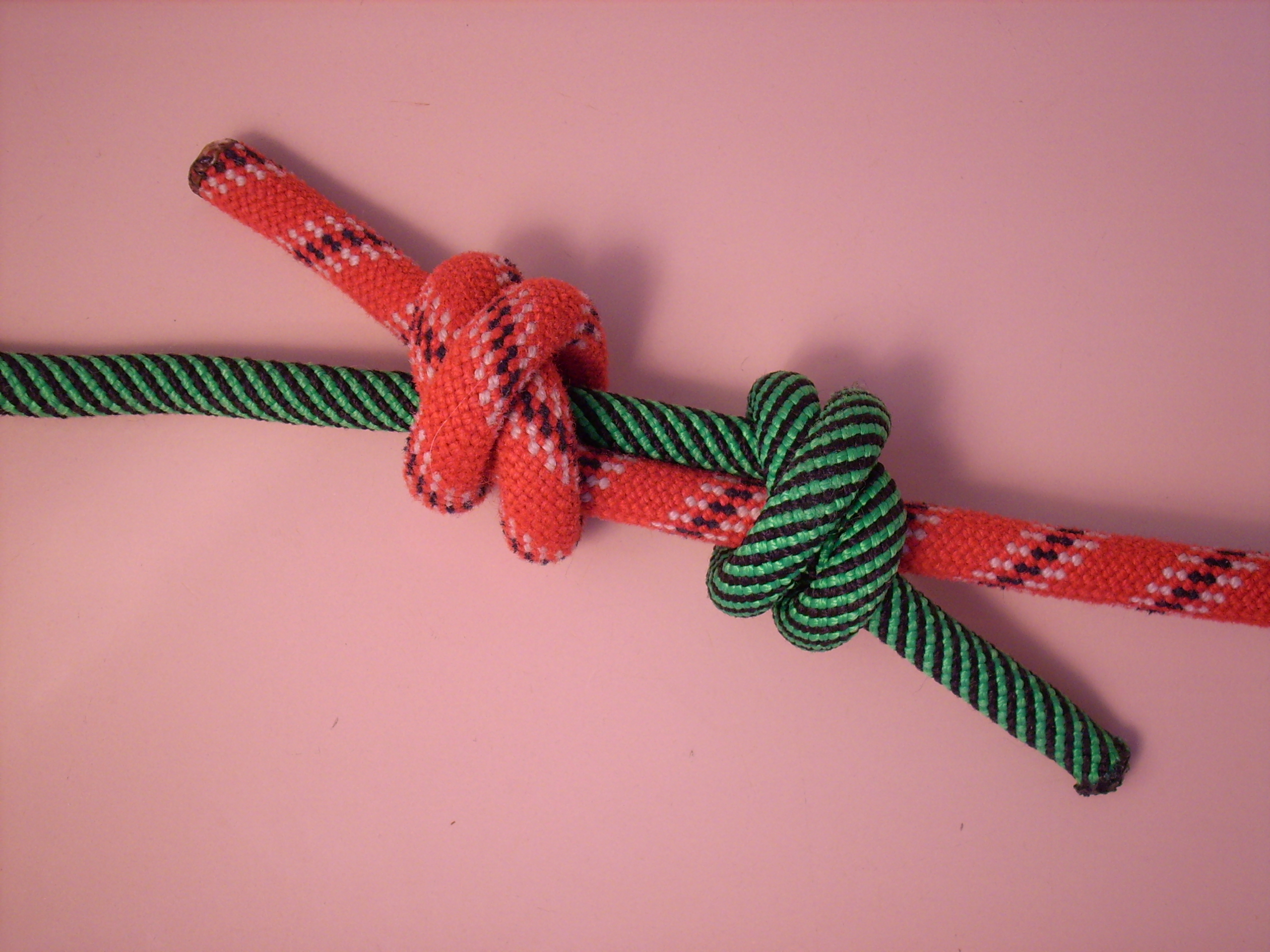 Double Fisherman's Knot Step 4