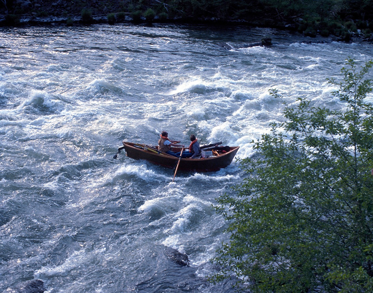Description Drift boat aka Mckenzie River dory.jpg