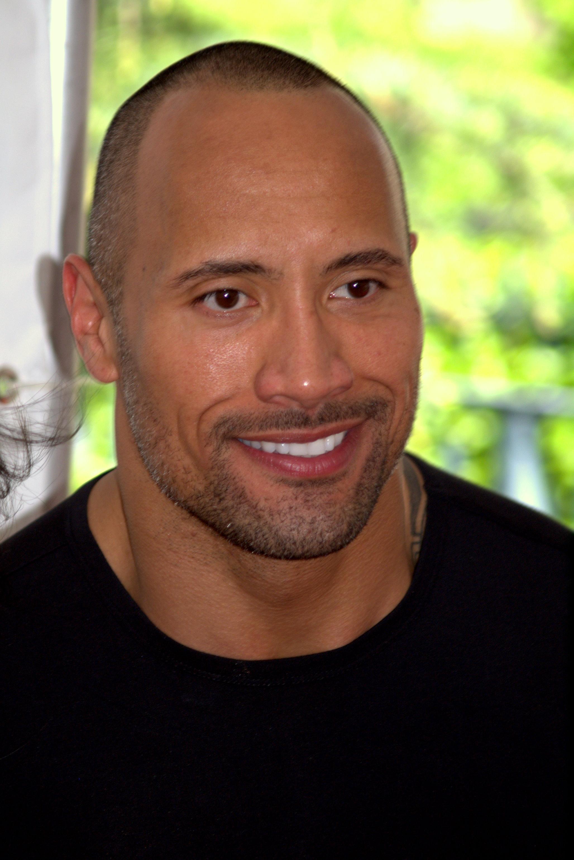 Dwayne Johnson Portrait