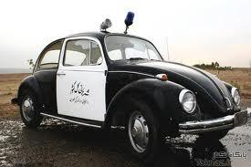 ماشین پلیس قدیمی ایران مربوط به شهر بانی عکس